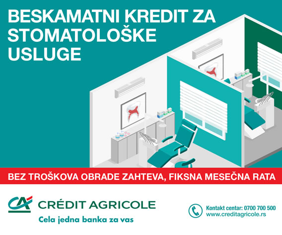 credit agricole krediti za stomatoloske usluge